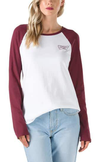 T Shirts For Women Baseball Amp Graphic Tees Vans 174