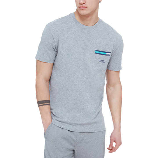 Block Stripe T-Shirt mit Brusttasche | Vans