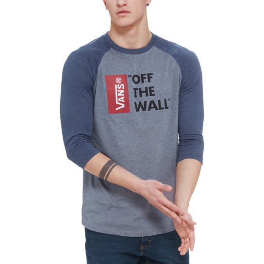 T-shirt manches raglan Vans Off the Wall | Vans