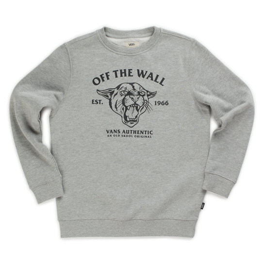 Kids  Old Skool Cougar Crew Sweatshirt (8-14+ years) | Vans