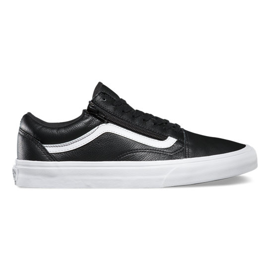 Premium Leather Old Skool Zip Schoenen | Vans