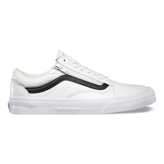 Premium Leather Old Skool Zip Shoes | Vans