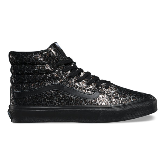 Metallic Leopard Sk8-Hi Slim Shoes | Vans