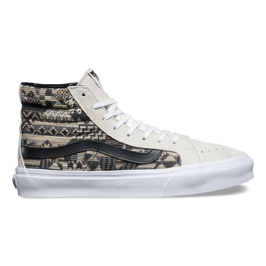 Italian Weave Sk8-Hi Slim Shoes | Vans