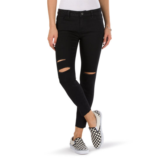 Destructured Skinny-Jeans | Vans