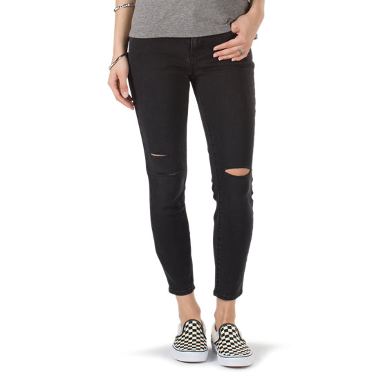Destructed Skinny Jeans | Vans