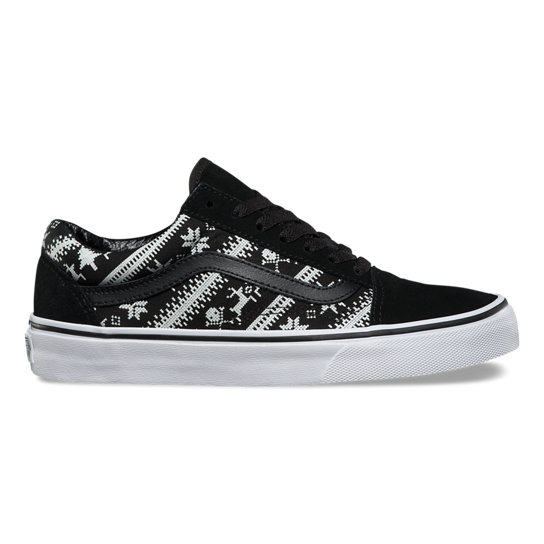 Fair Isle Old Skool Shoes | Vans