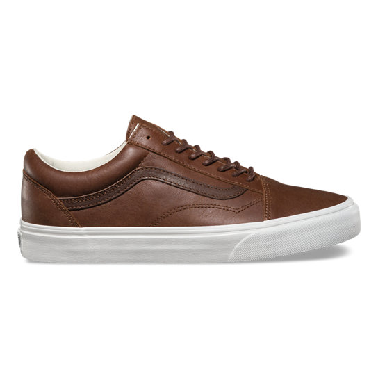 Leather Old Skool Schoenen | Vans