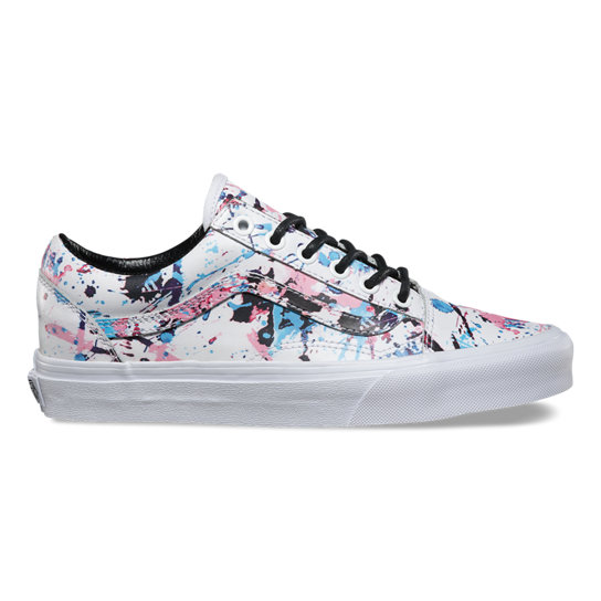 Paint Splatter Old Skool Shoes | Vans