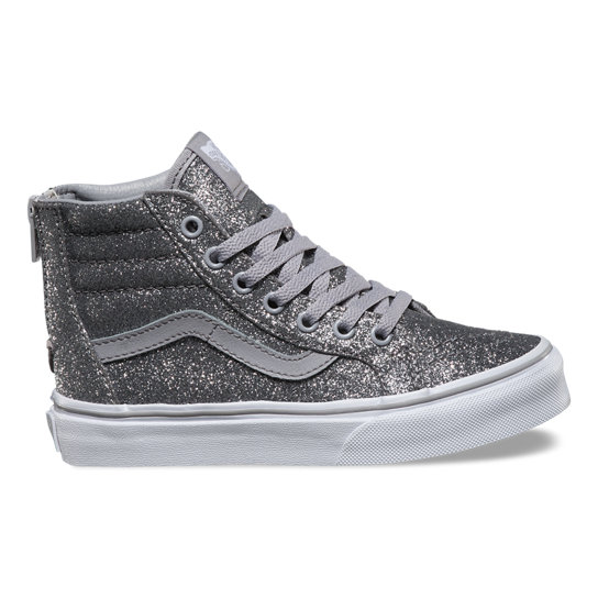 Kids Shimmer SK8-Hi Zip Shoes | Vans