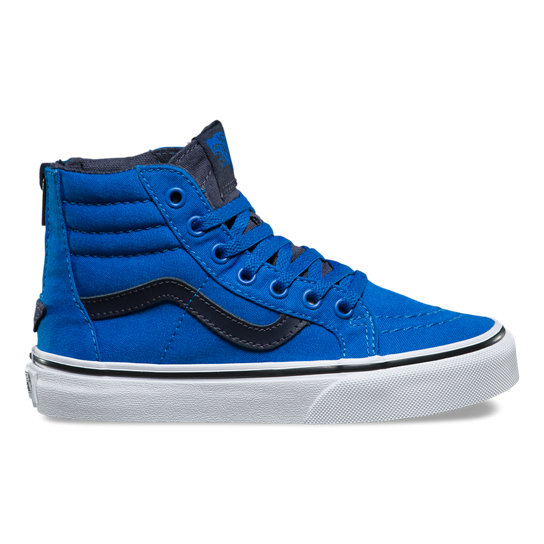 Kids Sk8 Hi Zip Shoes