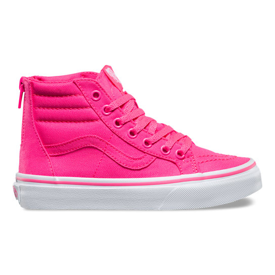 Kids Neon Sk8-Hi Zip Shoes | Vans