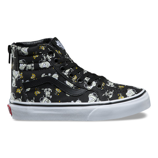 Kids Vans X Peanuts SK8-Hi Zip Shoes (4-8 years) | Vans