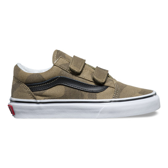 d5178ac9b0 Kids Camo Jaquard Old Skool V Shoes