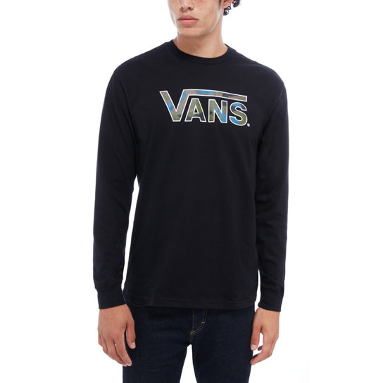 Classic Logo Fill Long Sleeve T-Shirt | Vans