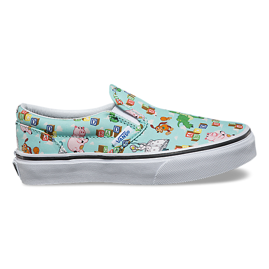 Kinder+Toy+Story+Classic+Slip-On+Schuhe