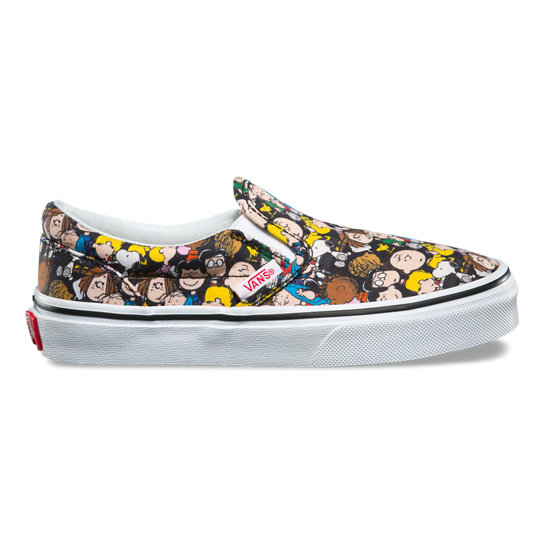 Kids Vans X Peanuts Classic Slip-On Shoes | Vans
