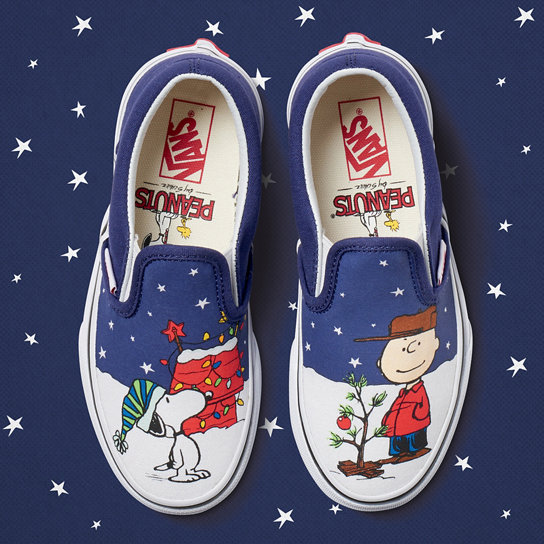 Kids Vans X Peanuts Slip-On Shoes (4-8 years) | Vans