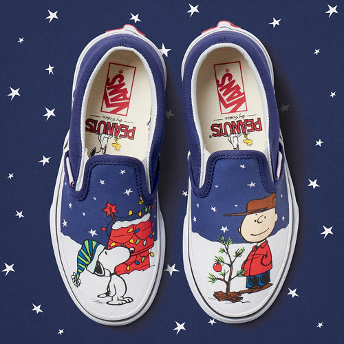 Vans+X+Peanuts+Slip-On+Kinderschoenen