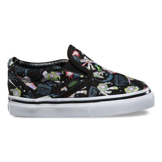 Toddler Toy Story Classic Slip-On Shoes | Vans