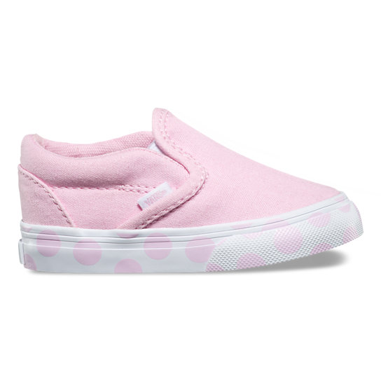 Toddler Polka Dot Classic Slip-On Shoes | Vans