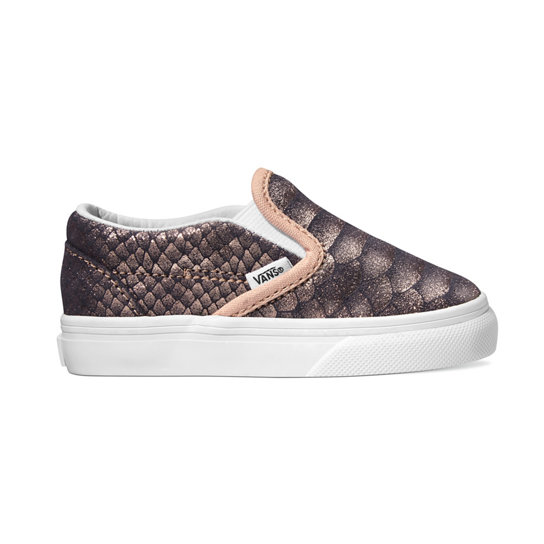 Zapatillas Metallic Snake Classic Slip-On de niñita | Vans