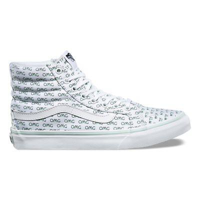 7e087638f2 OMG WTF Sk8-Hi Slim Shoes
