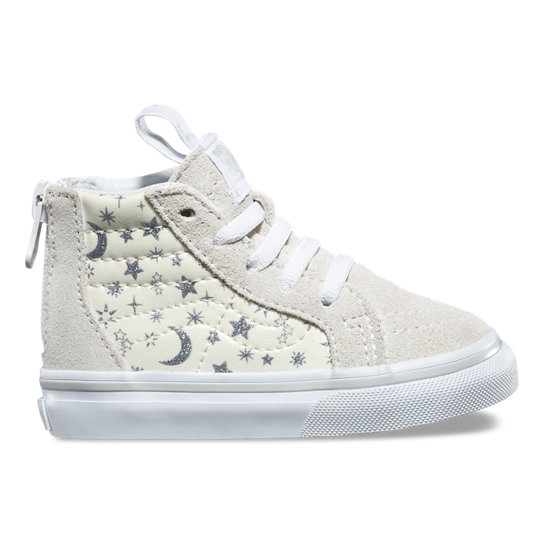 Toddler Star Glitter SK8-Hi Zip Shoes | Vans