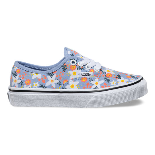 Kids Floral Pop Authentic Shoes | Vans