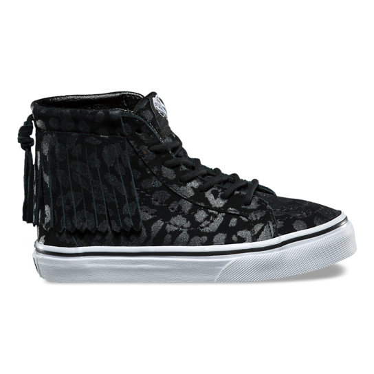 Kids Leopard Suede SK8-Hi Moc Shoes (4-8 years) | Vans