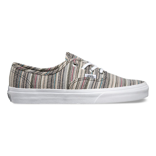 Textile Stripes Authentic Shoes | Vans