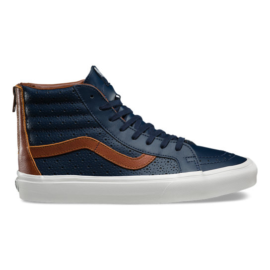 Leather Perf Sk8-Hi Reissue Zip Shoes | Vans