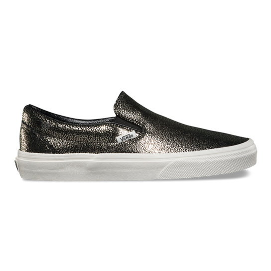 Gold Dots Classic Slip-On Shoes | Vans