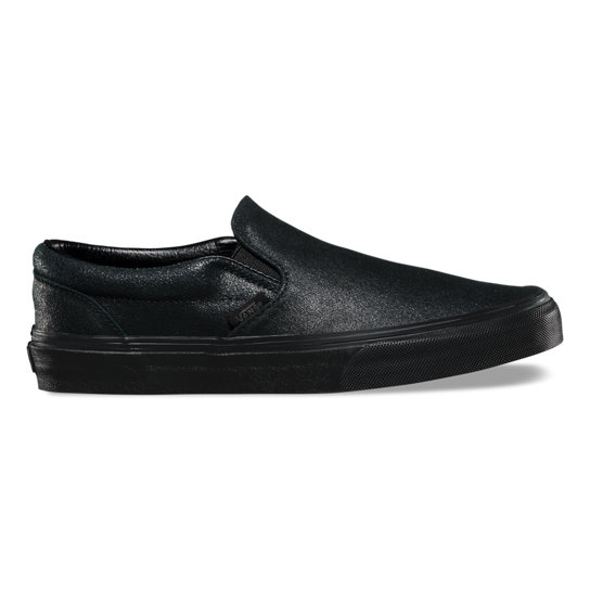 Patent Crackle Classic Slip-On Shoes | Vans