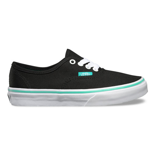 Kids Iridescent Eyelets Authentic Shoes | Vans