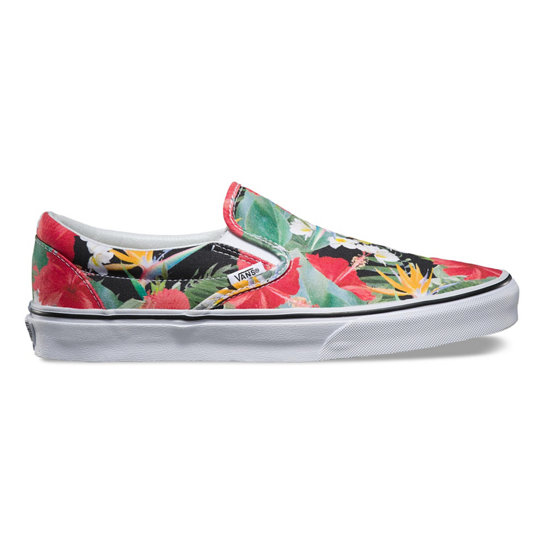 Digi Aloha Classic Slip-On Shoes | Vans