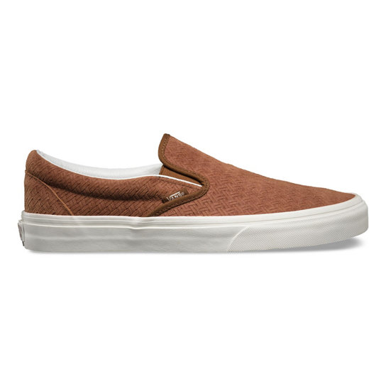 Braided Suede Classic Slip-On Shoes | Vans