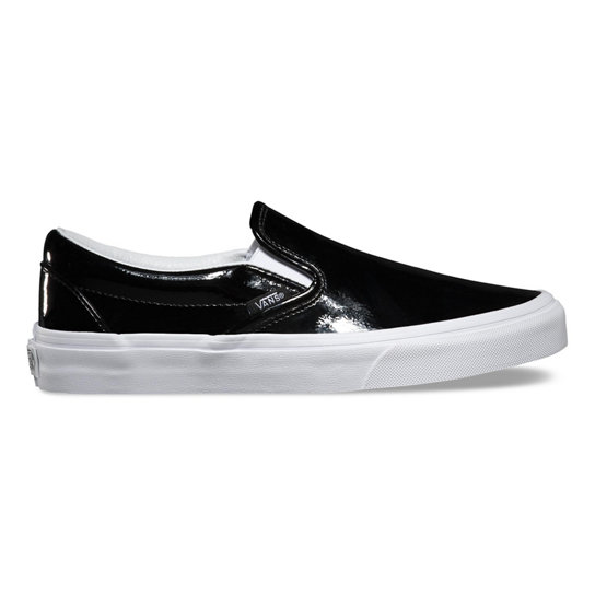 Tumble Patent Classic Slip-On Shoes | Vans