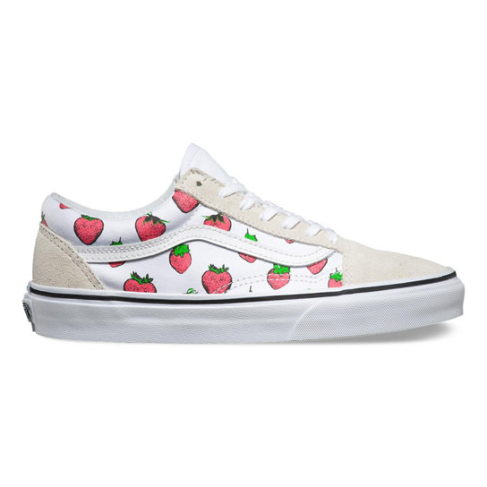 Strawberries Old Skool Shoes | Vans