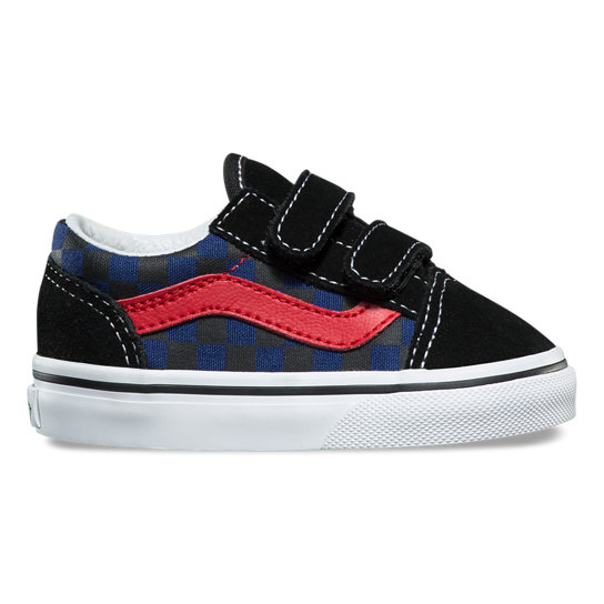 Toddler Checkerboard Old Skool V Shoes | Vans