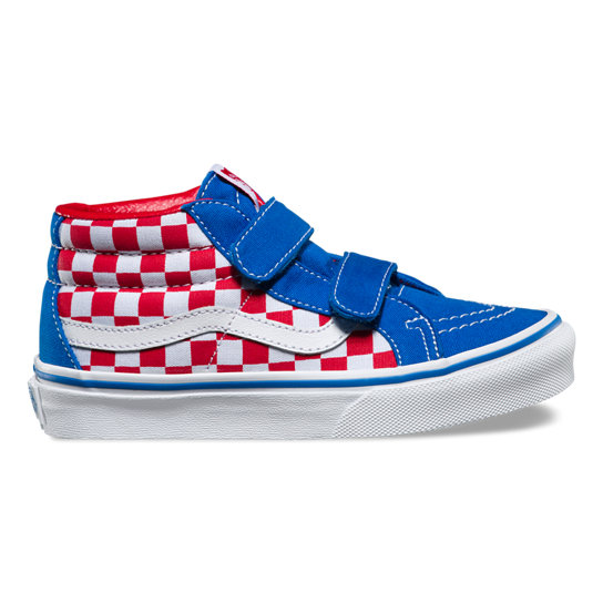Kids Checkerboard Sk8-Mid Reissue V Shoes | Vans