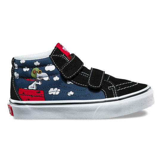 Kids Vans X Peanuts Sk8-Mid Reissue V Shoes (4-8 years) | Vans