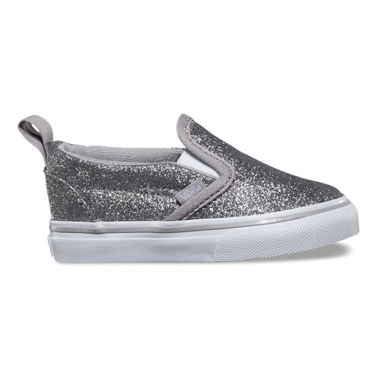 Toddler Shimmer Slip-On V Shoes | Vans