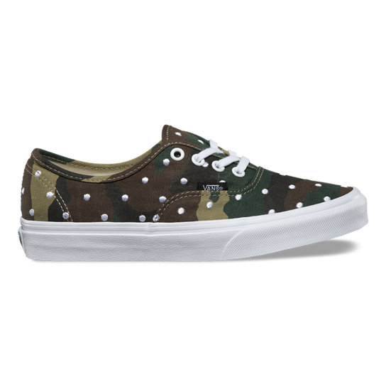 Camo Polka Dot Authentic Shoes | Vans