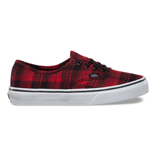 Plaid Flannel Authentic Shoes | Vans