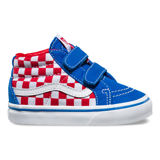 Toddler Checkerboard Sk8-Mid Reissue V Shoes | Vans