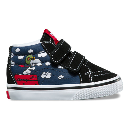 Toddler Vans X Peanuts Sk8-Mid Reissue Shoes | Vans