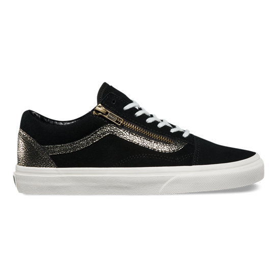 Gold Dots Old Skool Zip Shoes | Vans