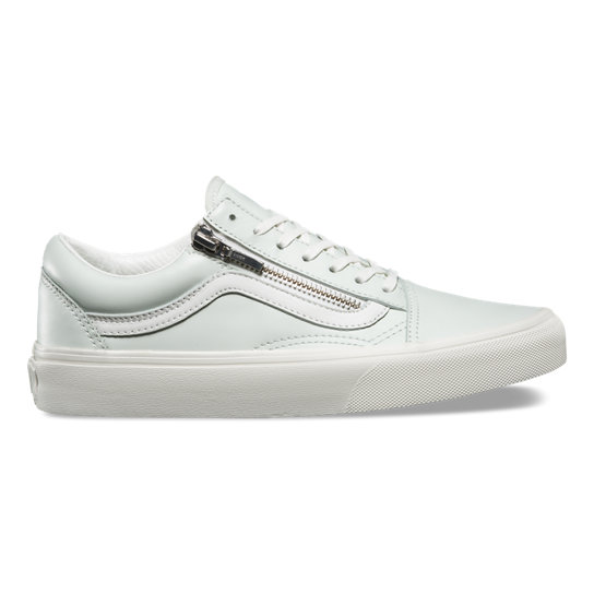 Scarpe Old Skool in pelle con zip | Vans