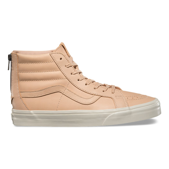 Tan Sk8-Hi Slim Zip DX Shoes | Vans